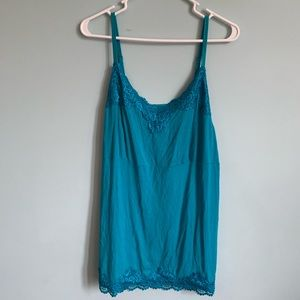 Lane Bryant 18/20 Tank with Lace Accents